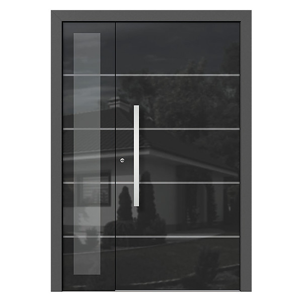 Entry Doors With Modern Glass Designs