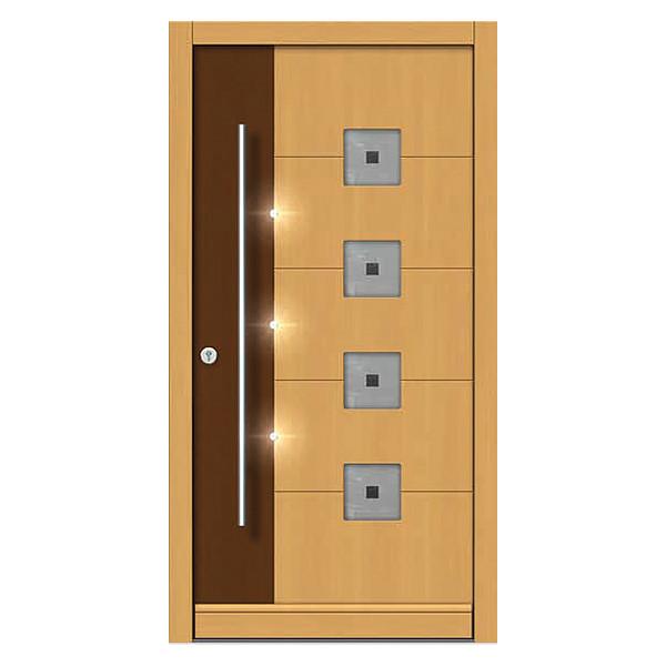 Wood Front Doors Modern And Traditional Custom Built Doors Neuffer