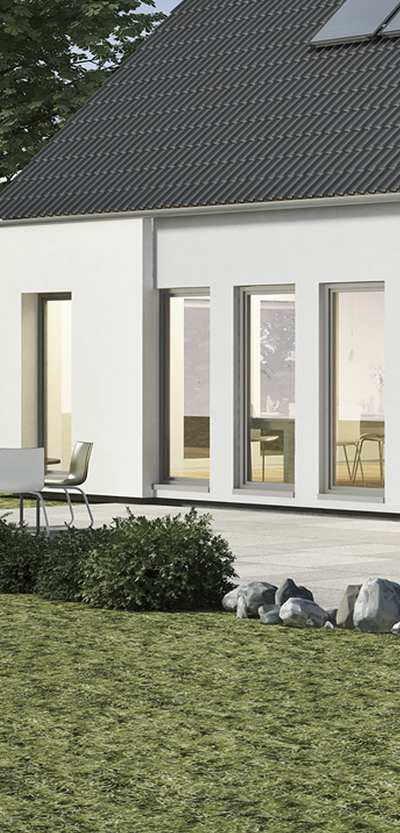 a series of passive house windows