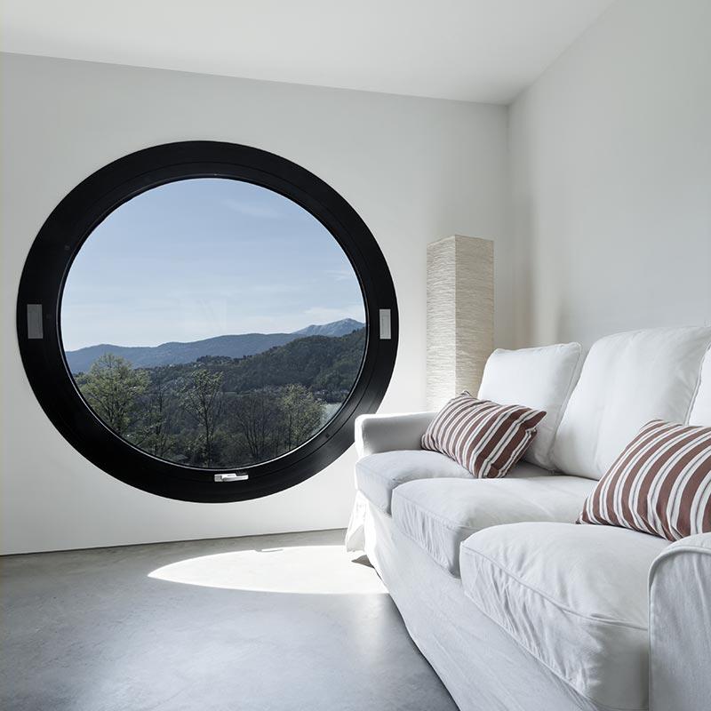 Round Window In Great Modern Design Neuffer