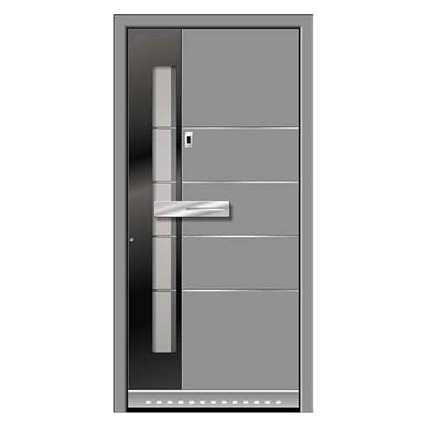 Modern Door with Fingerprint Technology