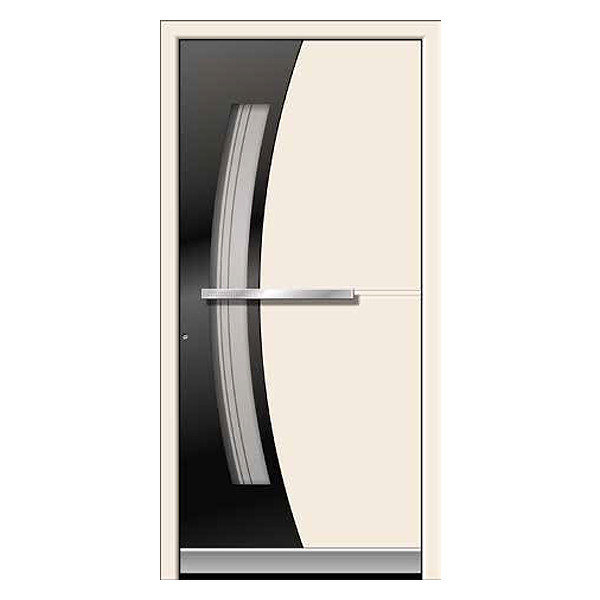 Modern two-tone design front door