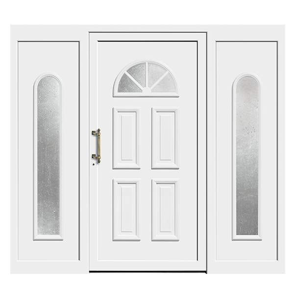 Front Door with Sidelights wood
