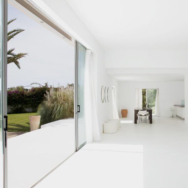 Extra Large Patio Door Interior View
