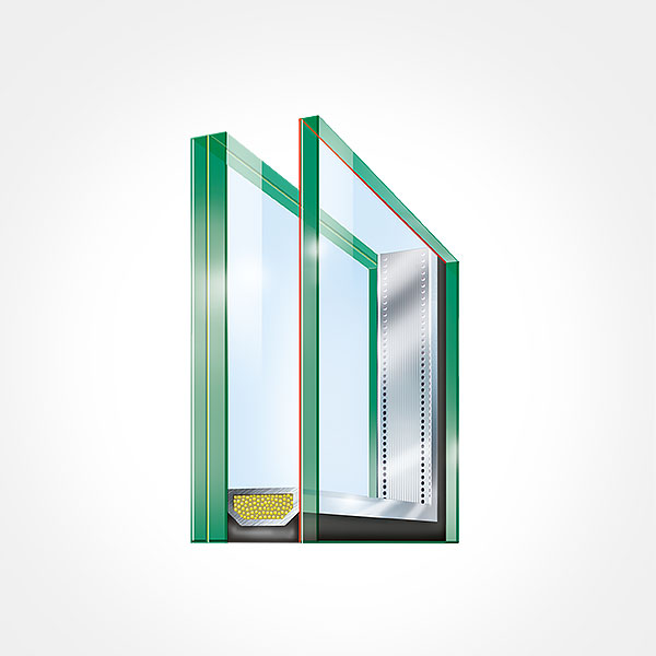 Laminated Safety Glass from the Outside