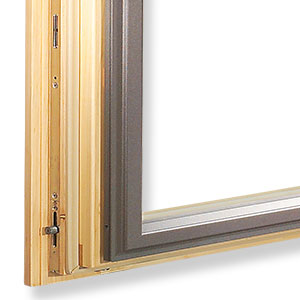 Aluclad Wood Windows