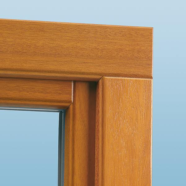 Wood Windows Exterior Details