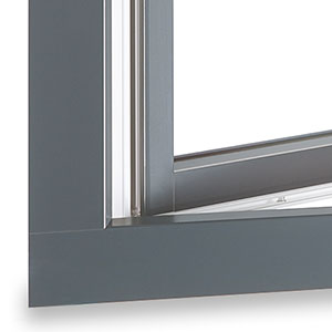 Aluclad Vinyl Windows